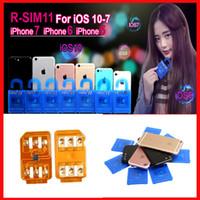 Разблокировка карты SIM R 11 RSIM11 г sim11 RSIM 11 для iPhone 5 6 7 6plus iOS7 / 8/9/10 ios7-10.x CDMA GSM / WCDMA SB AU СПРИНТ 3G 4G