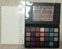 Natasha Denona Maquillage palette d'ombre à paupières 28 couleurs set cosmetiques violet bleu vert marron Palette d'ombre à l'ombre matte étanche avec cadeau DHL