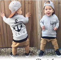 baby clothing sets newbron toddler boy girl sutfits Top T- sh...