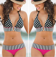2017 New Fashion Women' s Polka Dot Swimwear Girls Sexy ...