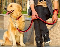 Hot Selling Dog Chain Leads Nylon Pet Leash Braided