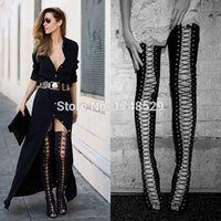 Wholesale Thigh High Gladiator Sandals Heel - Buy Cheap Thigh High ...