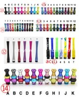 Hot selling colorful gourd aluminum 510 long drip tips long ...