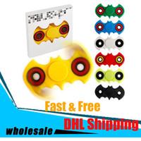 EDC Fidget spinner doigts doigts en spirale gyro Batman Torqbar jouets portant la rotation décompression haut jouets