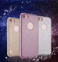 Glitter Series Cell Phone Cases Soft TPU Flash Powder Soft P...