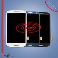 Pour Samsung Galaxy Siii S3 i9300 blanc bleu noir Touch LCD Digitizer remplacement de l'écran Livraison gratuite de DHL