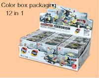 12 in 1 military force series Building Blocks Bricks Toys ar...