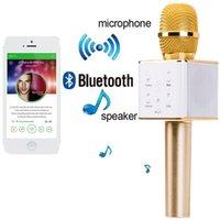 Portable Wireless Bluetooth Karaoke Microphone Q7 Stereo Blu...