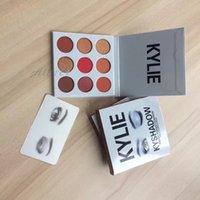 Kylie edición de vacaciones Kylie Sombra de ojos Generación de la paleta .2 .3 Jenner sombreador de ojos Kit Paleta de bronce cosméticos 9 colores