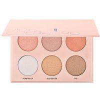 GAMA CALIENTE de la fundación del polvo de la edición limitada del kit de Nicole Guerriero del maquillaje X que resalta DHL de alta calidad envío + REGALO