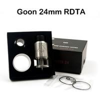 Goon 528 24мм RDTA Форсунки E сигареты Vaporizer Черное золото серебро Доступный Высокое качество Clone Форсунка