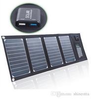 20W Портативный складной панели солнечных батарей зарядное устройство Solar Phone / Tablet / зарядное устройство для Iphone Sumsung HTC BlackBerry IPAD