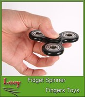 HandSpinner Fingertips Spirale Fingers Fidget Spinner EDC Hand Spinner Acrylique Plastique Fidgets Jouets Gyro Toys With Retail Box