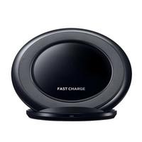 Беспроводная зарядка Pad Поддержка 2-ой Быстрая зарядка быстрое зарядное устройство EP-PN920 поколения для Samsung Galaxy Note 5 s6 Край S7 Край