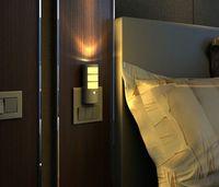 Солнечный свет водить движения Активированный Night Light, человеческого тела Датчик света, 5-в-1 Мульт-Function Настенный светильник, фонарик, штепсельной вилки США LLFA