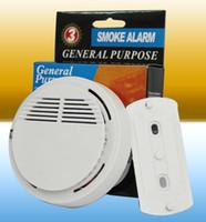 Hot Sale White détecteur de fumée sans fil fonctionné haute sensibilité Stable détecteur d'incendie capteur approprié pour détecter la sécurité à domicile LLFA