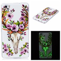 12 Designs Luminous Color Printing TPU Soft Case for Huawei ...