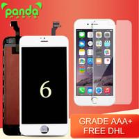 Pour l'iPhone 6 LCD Grade AAA +++ Écran LCD Touch Digitizer Écran de 4,7 pouces avec le remplacement d'assemblage cadre Livraison gratuite DHL