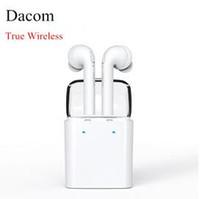 Dacom GF7 TWS Twins True Bluetooth sans fil casque écouteurs écouteurs pour iPhone 7 7P double jumeaux écouteurs Smartphones VS Q800 S530
