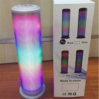 JHW-V169 Colorful Dazzle Lumière LED Pulse Dancing Haut-parleur sans fil Bluetooth Portable Musique stéréo Surround Music Player Surround mains libres