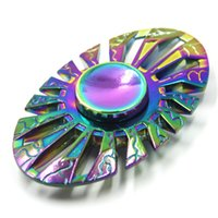 Nouveau Rainbow Fidget Spinner Toy Butterfly Fish Thor Egyptian Beatle Rotation Hand Spinners Axe de roulement en alliage EDC Finger Tip OTH463