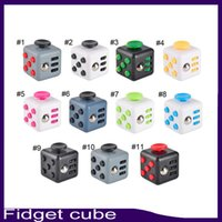 Fidget cube 3. 3*3. 3*3. 3cm 11 color Newest the world' s f...