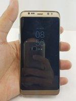 S8 Curved Screen 5.2inch quad core réel 1GB 8GB montrer faux 64GB Débloquer également S7 S7 EDGE rouge i7 plus