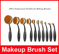 10pcs MULTIPURPOSE Make Up Brush The Beginning of Beauty Ang...