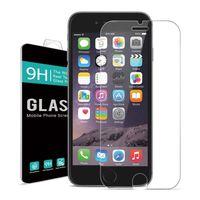 Stocks américains! 9H GBB Protecteur d'écran de 4,7 pouces Protecteur d'écran en verre trempé pour Apple iPhone 6 6s Livraison gratuite