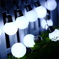 Christmas Decorations Lights G50 Solar Power String Light 10...
