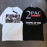 2PAC Tupac Camiseta Forma nova 2017 do verão tudo Eyez em mim parte superior Oversize da rua dos homens T-shirt de Hip Hop Tupac 2PAC do rap