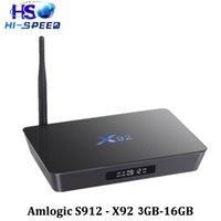 20PCS x92 Amlogic S912 3G 16GInternet Tv Box Octa- Core andro...