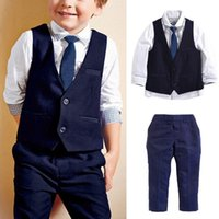 Best Selling Gentleman Clothes Baby Toddler Infant Outfits C...