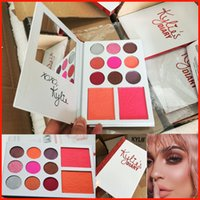 2017 Kylie's Diary Eyeshadow Palette Кайли VALENTINES DIARY 9 Тени для век 2 Палитра для румян kylie valentines collection kyshadow 11 Цвета