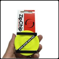 ZipChip Deportes al aire libre Disco de vuelo Juguete puede volar 60 metros Frisbee para lanzar y atrapar Juego de captura para niños Adultos Clips ZipChip
