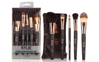 hot selling new kylie Makeup Brushes 5 pieces Professional M...