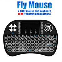 Backlight Keyboard Rii i8+ 2. 4Ghz Wireless Qwerty English Ke...