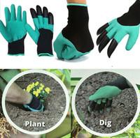 Garden Genie gants avec 4 griffes construit en griffes façon facile de Garden Digging plantation résistant à l'eau griffes gants de jardinage KKA1420