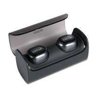 QCY Q29 double Mini écouteur sans fil Bluetooth 3D casque stéréo avec chargeur BOX pour Iphone 7 Samsung Xiaomi