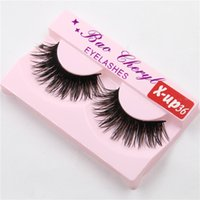x- up36 1 Pair Women Makeup Beauty Thick 3D False Eyelashes p...