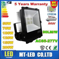 AC 90- 277V Cree LED Floodlights 30W 50W 70W 100W 120W 150W 2...