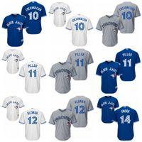 Youth Toronto Blue Jays 10 Edwin Encarnacion 11 Kevin Pillar...
