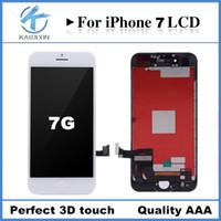 Perfect 3D touch Pour iPhone 7 Écran LCD Écran tactile Numériseur Panneau Cadre Qualité AAA