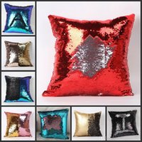 HOT Double Sequin Pillow Case Cover Sequins Pillowslip Glow ...