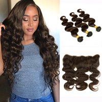 3 Bundles With Lace Frontal Body Wave Raw Virgin Indian Huma...