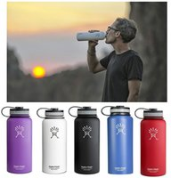 18OZ Hydro Flask Insulation Cup 550ML Water Bottle 304 Stain...