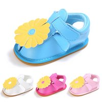 Summer new 0- 1 year old baby girl princess sandals tendon at...