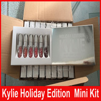 New Christmas Kylie Holiday Edition 6 pcs Mini Matte Liquid ...