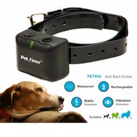 Anti Bark Collar Rechargeable and Waterproof No Barking Coll...