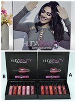 Makeup Beauty new 6 color Lip Gloss set Liquid Matte Minis M...